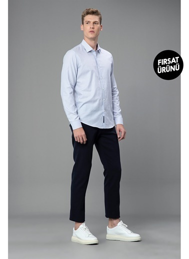 Lufian Glad Smart Chino Pantolon Slim Fit  Lacivert